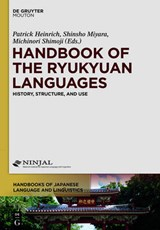 Handbook of the Ryukyuan Languages | auteur onbekend |