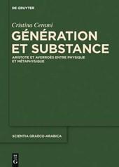Génération Et Substance