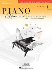 Technique & Artistry Level 4 Faber Piano Adventures