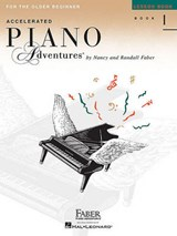 Accelerated Piano Adventures for the Older Beginner - Lesson Book | auteur onbekend |