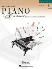 Accelerated Piano Adventures for the Older Beginner - Lesson Book |  |