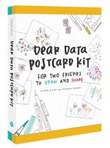 Dear data postcard kit | Giorgia Lupi |