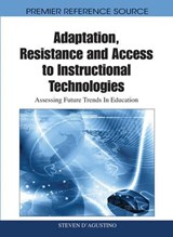 Adaptation, Resistance and Access to Instructional Technologies | auteur onbekend |