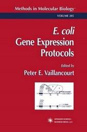 E, Coli Gene Expression Protocols