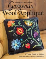 Gorgeous Wool Applique | Deborah Gale Tirico |