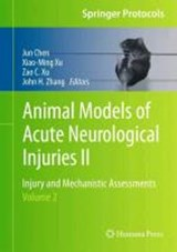 Animal Models of Acute Neurological Injuries II | auteur onbekend |