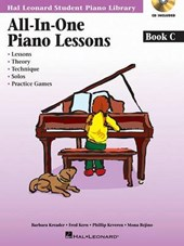 All-in-One Piano Lessons Book C