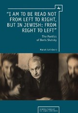 I Am to Be Read Not from Left to Right, but in Jewish from Right to Left | Marat Grinberg |