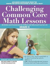 Challenging Common Core Math Lessons Grade