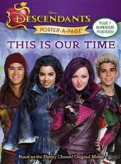 Disney Descendants Poster-a-page