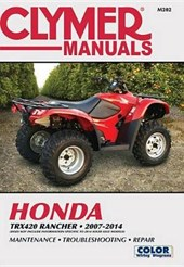 Clymer Manuals Honda TRX420 RANCHER 2007-2014