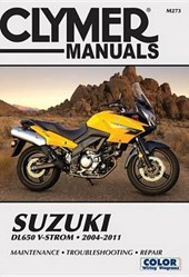 Clymer Manuals Suzuki DL650 V-STROM 2004-2011