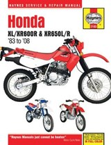 Honda XL/Xr600r & Xr650l/R, 1983 to | Editors of Haynes Manuals |
