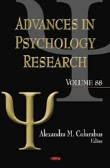 Advances in Psychology Research | auteur onbekend |