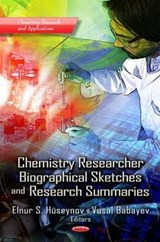 Chemistry Researcher Biographical Sketches and Research Summaries |  |