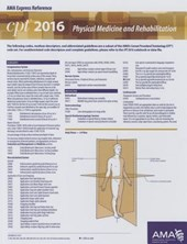 CPT Express Reference Coding Card Physical Medicine and Rehabilitation