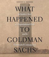 What Happened to Goldman Sachs | Steven G. Mandis |