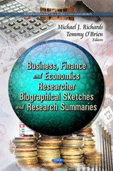 Business, Finance and Economcs Researcher Biographical Sketches and Research Summaries | auteur onbekend |