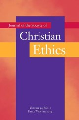Journal of the Society of Christian Ethics | auteur onbekend |