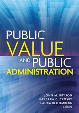 Public Value and Public Administration |  |