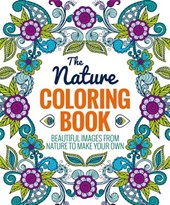 The Nature Adult Coloring Book