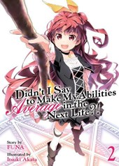 Didn't I Say to Make My Abilities Average in the Next Life?! (Light Novel) Vol. 2