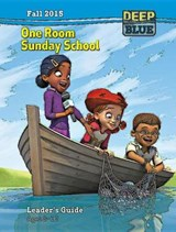 Deep Blue One Room Sunday School Leader's Guide Fall | Abingdon Press |