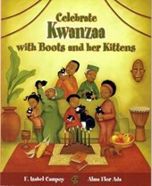Celebra Kwanzaa con botitas y sus gatitos/ Celebrate Kwanzaa With Boots and Her Kittens