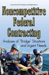 Noncompetitive Federal Contracting