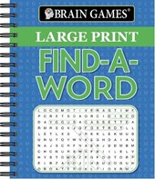 Brain Games Large Print Find a Word