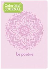 Color Me Journal Be Positive |  |