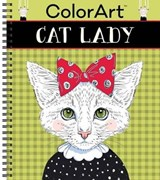 Color Art Cat Lady | auteur onbekend |