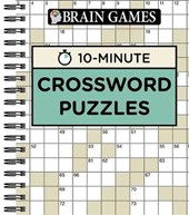 Brain Games 10 Minute Crossword Puzzles |  |