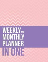 Weekly And Monthly Planner In One | Speedy Publishing Llc |