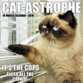 Cat-Astrophe 2018 Wall Calendar