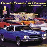 Classic Cruisin' & Chrome 2018 Calendar | Willow Creek Press |