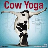 Cow Yoga 2018 Wall Calendar