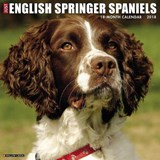 Just English Springer Spaniels 2018 Wall Calendar (Dog Breed | auteur onbekend |