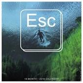 Esc. 2018 Wall Calendar