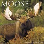 Moose 2018 Wall Calendar