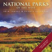 National Parks of the West 2018 Calendar