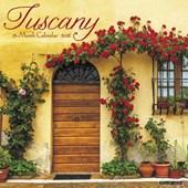 Tuscany 2018 Calendar