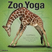 Zoo Yoga 2018 Wall Calendar