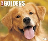 Just Goldens 2018 Calendar