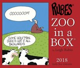 Zoo in a Box 2018 Calendar | Leigh Rubin |
