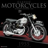 Classic Motorcycles 2018 Calendar | Willow Creek Press |