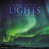 Northern Lights 2018 Wall Calendar
