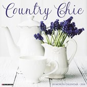 Country Chic 2018 Wall Calendar