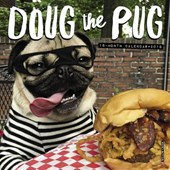 Doug the Pug 2018 Mini Wall Calendar |  |
