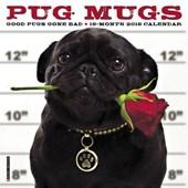 Pug Mugs 2018 Calendar
